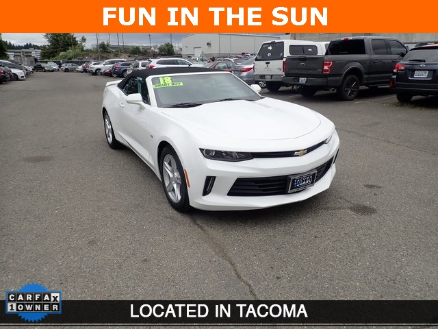 Pre-Owned 2018 Chevrolet Camaro Convertible