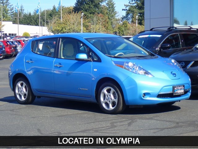 Pre Owned 2012 Nissan Leaf Sv 4d Hatchback In Olympia Ct023126