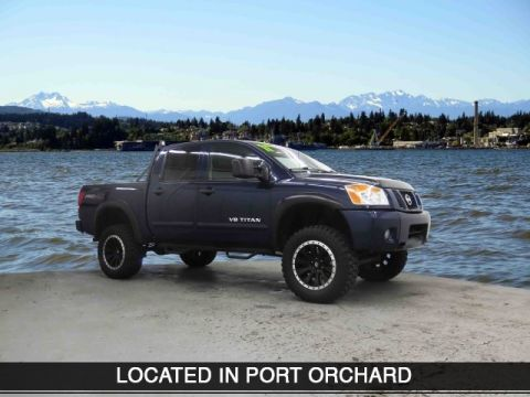 Pre-Owned 2011 Nissan Titan PRO