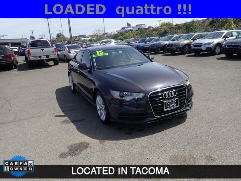 Pre-Owned 2015 Audi A6 3.0T Premium Plus